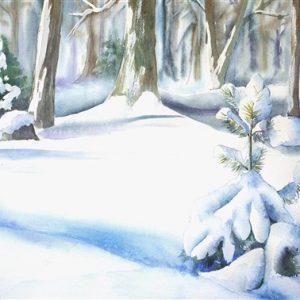 Lume embuses, akvarell, 56×38 cm