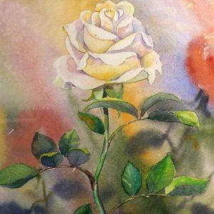 Väljavalitu, akvarell, 30×42 cm